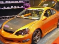 Beautiful Orange Tuned Car