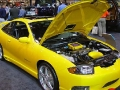 Beatiful Yellow Tuned Car - Engine Compartiment