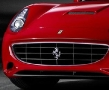 New Ferrari California - Front View Detail - Symbol
