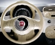 New Fiat 500 - White Wheel