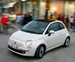 New Fiat 500 on the City