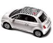 New Fiat 500 - Checkered Top