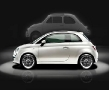 New Fiat 500 - Left - Shadow