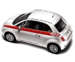 New Fiat 500 - Red Stripe