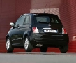 New Fiat 500 - Rear Black