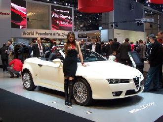 Alfa Romeo Model Girl