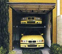 Garage car lift car tuning central car tuning central for Residential garage car lift