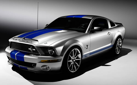 Ford Shelby Mustang GT 500 KR - Top