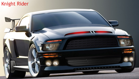 Ford Shelby Mustang GT 500 KR - Knight Rider