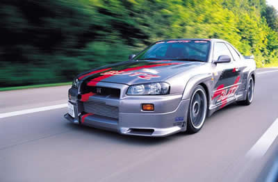 Street Racing Car - Nissan