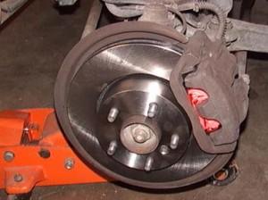 Changing Brake Pads - Details