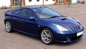 Toyota Celica - Blue