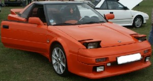 Orange Toyota MR2