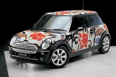 Mini Cooper Mosaic