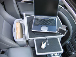Mobile Laptop Desk - Open