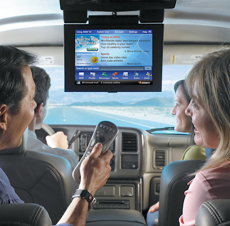Broadband Internet in your car
