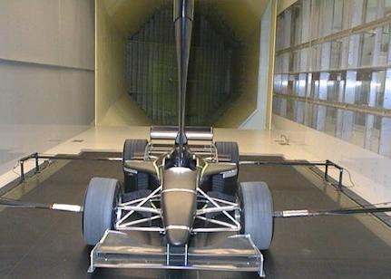 Mclaren F1 Aero Tunnel