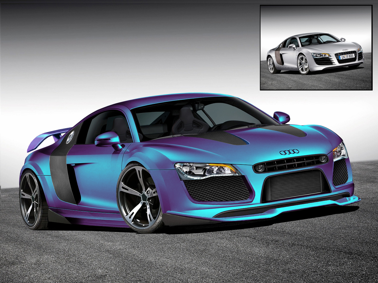 Audi R8 Virtual Tuning Car Tuning Central Car Tuning