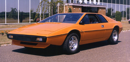 Lotus Espirit S1 - Orange Model