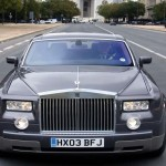Rolls Royce Phantom Front View