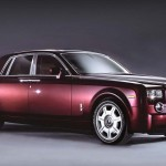 Bordeaux Rolls Royce Phantom Front View