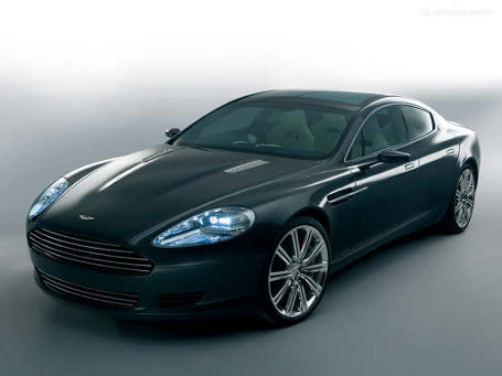 Aston Martin on Aston Martin Rapide