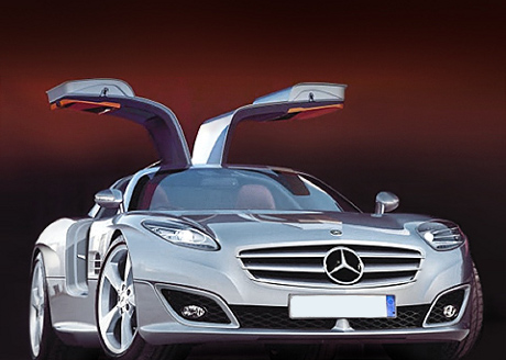 Mercedes Benz SLC Gullwing