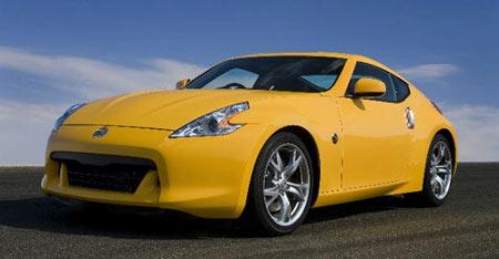 Nissan 370 Z - Yellow