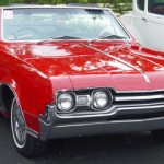 Oldsmobile - Retro Red Model