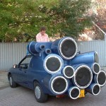 Car Stereo Boom Box