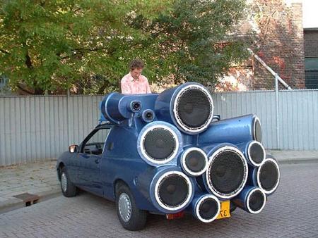 Car Stereo Boom Box