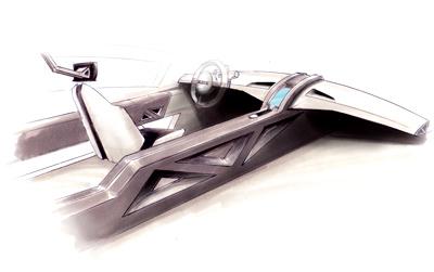 Ducati GT Car Interior