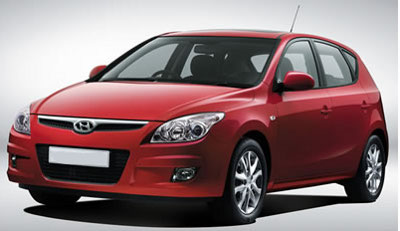 Hyundai i20 - Red