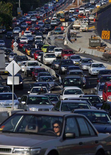 Huge Traffic Jam