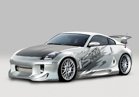 Tuning car pitures Nissan-350z-tuning1