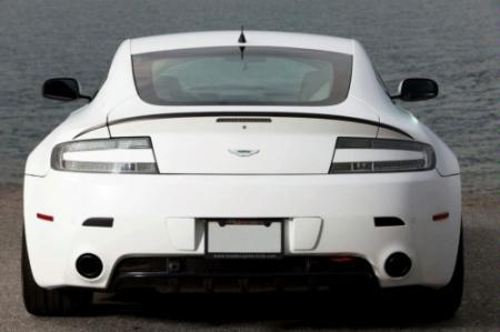 Aston Martin Vantage Helvellyn Frost Rear View