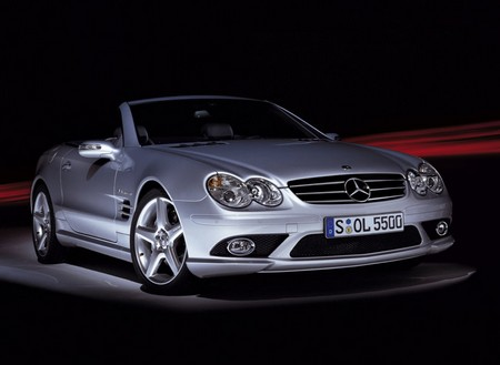 Mercedes Benz SL 55