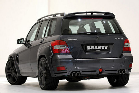 2009 Brabus Mercedes Benz Glk V12. The GLK V12 also sports Brabus