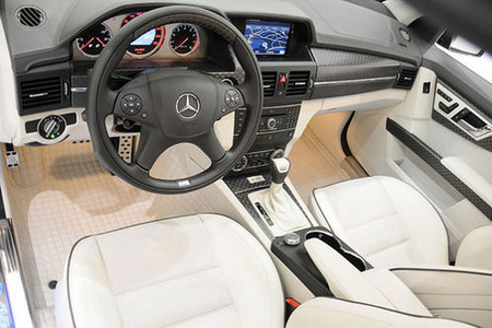 2009 Brabus Mercedes Benz Glk V12. Inside the cabin, the GLK V12