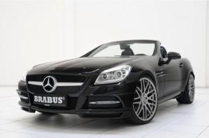 Brabus Mercedes SLK 2012 slk brabus 300x199