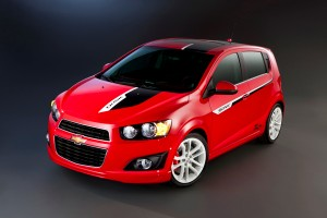2011 SEMA: Chevrolet Sonic Z Spec Chevrolet Sonic Z2 300x200
