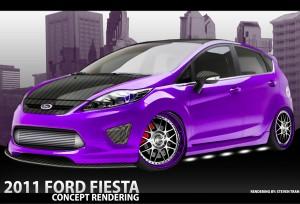 2011 SEMA: Ford Fiesta Fiesta M2Motoring 300x204