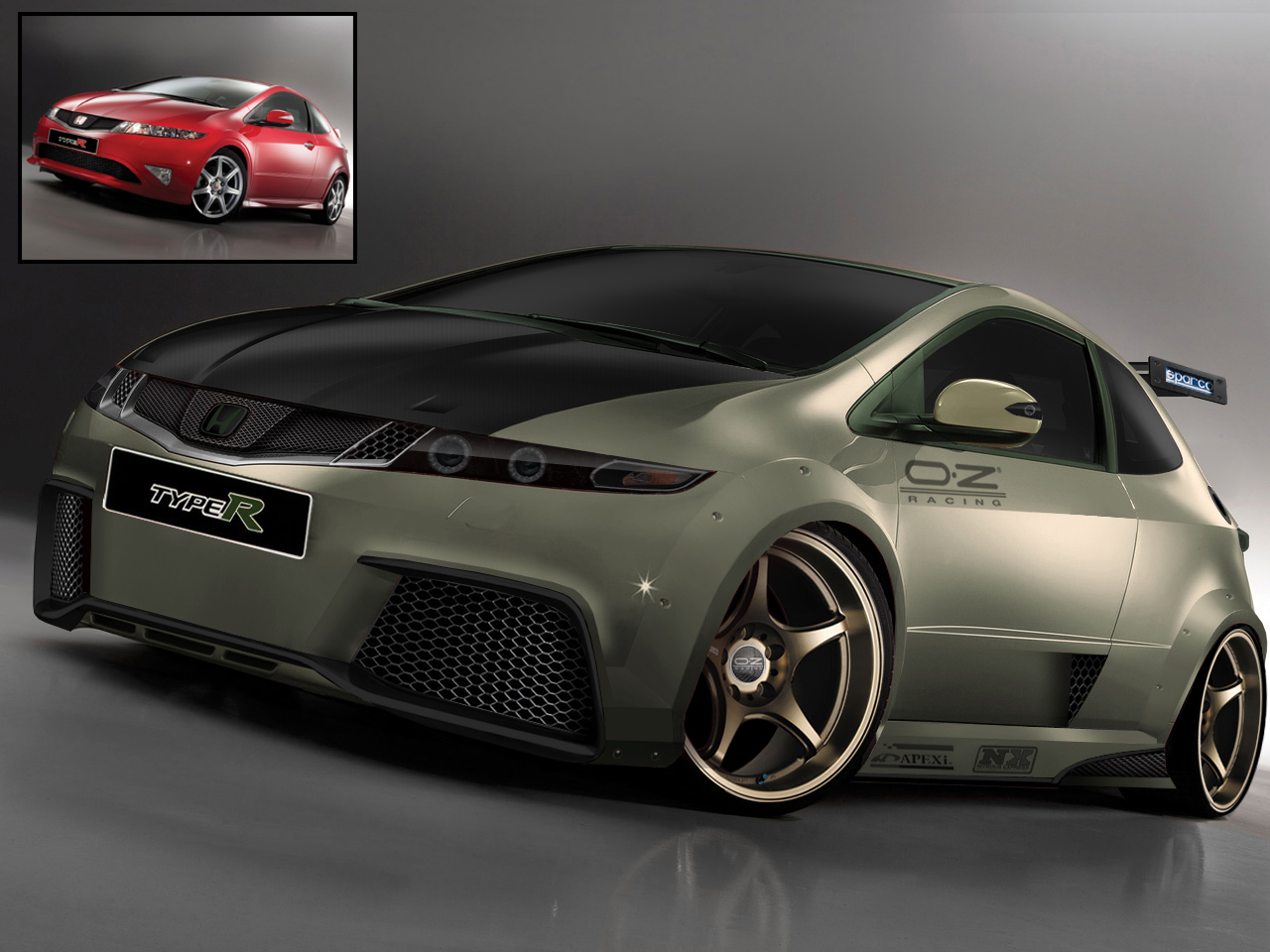 Ford Racing Performance Parts >> honda-civic-type-r-virtual-tuning : Car Tuning Central
