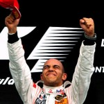 Formula 1 World Champion 2008 - Lewis Hamilton